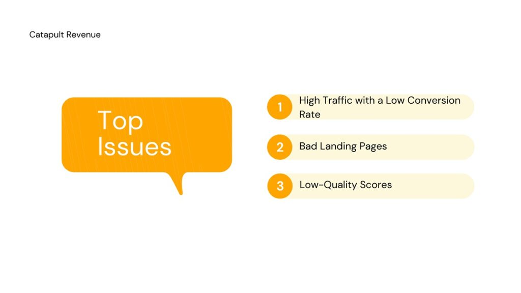 Most Common PPC Issues on eCommerce Websites