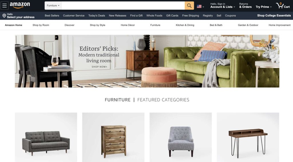Amazon.com Furniture