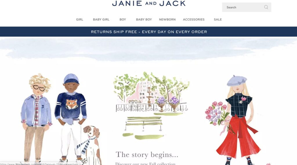 Janie and Jack Kids Clothes