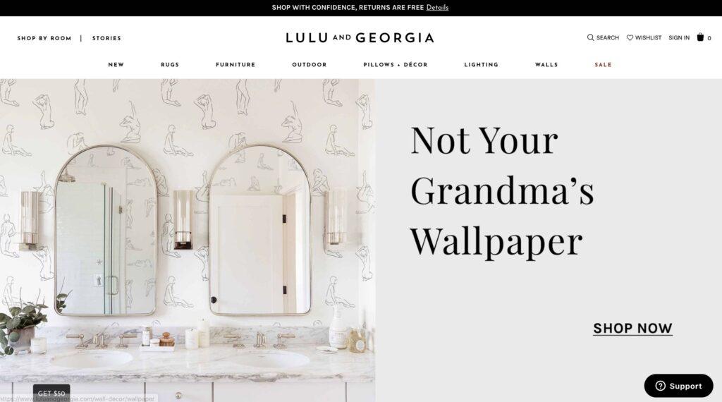 Lulu and Georgia Furniture