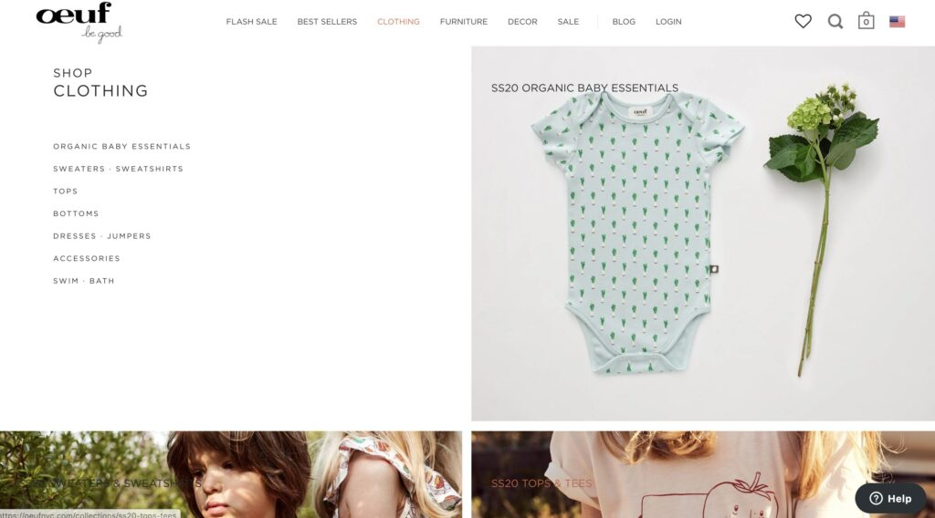 Oeuf Baby Clothes