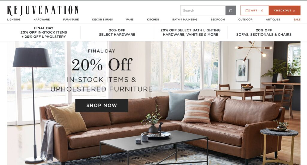 Rejuvenation Furniture