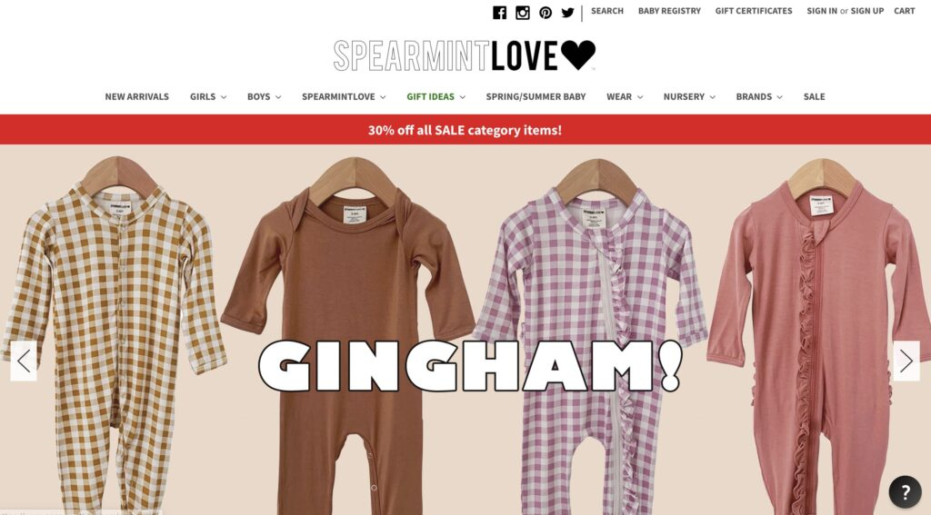 SpearmintLOVE Kids Clothes