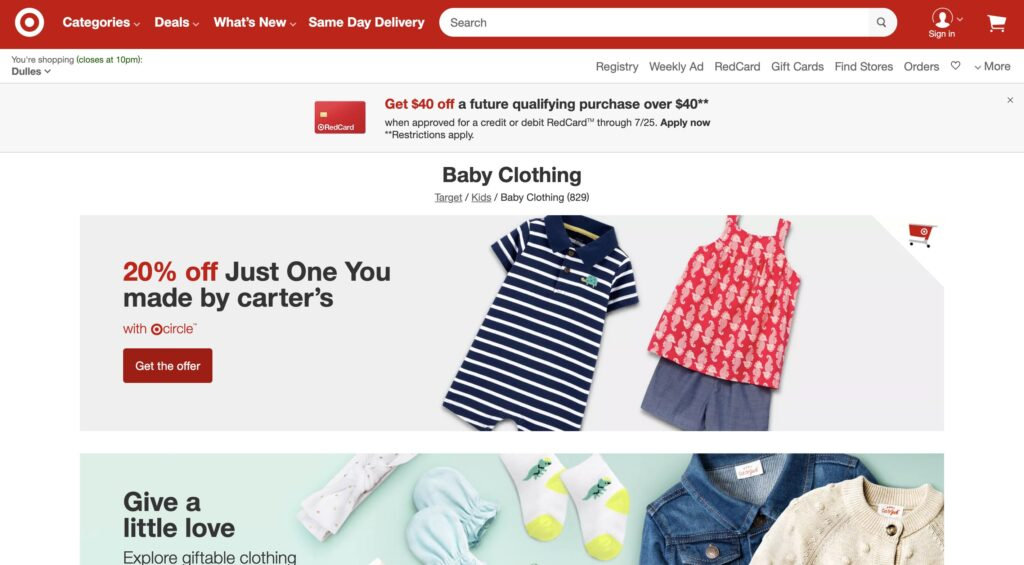 Target Kids Collection