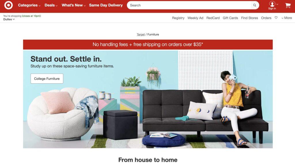 Target 2 Furniture