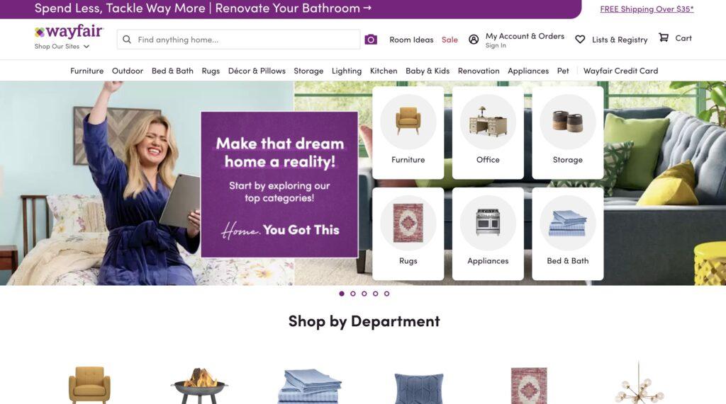 Wayfair.com Furniture