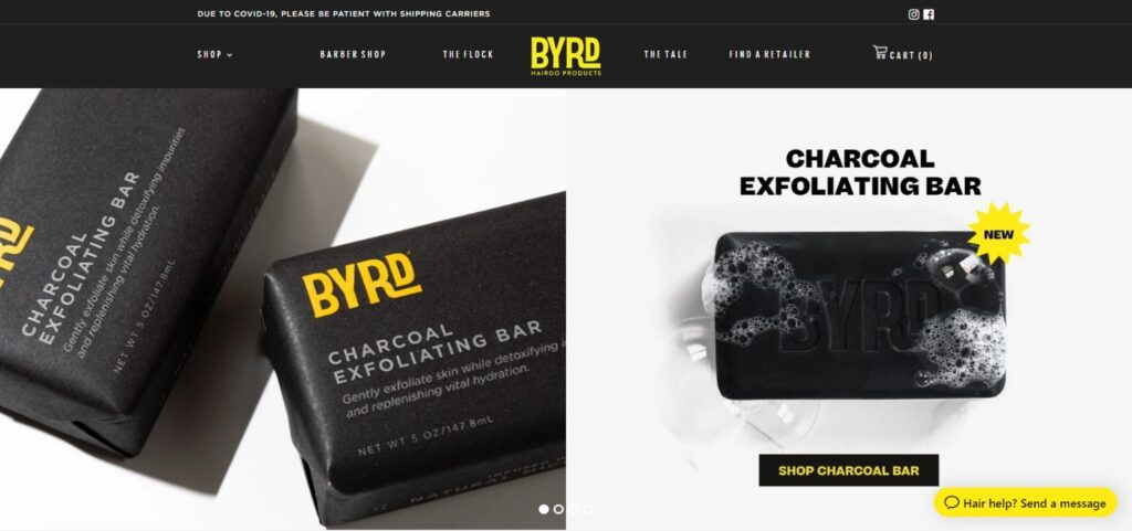 BYRD Hairdo best beauty website