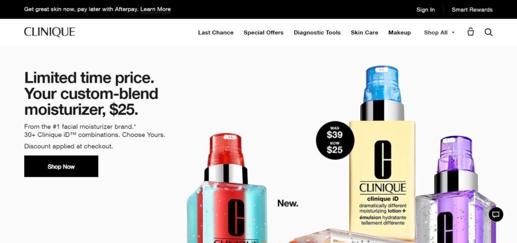 Clinique Cosmetics