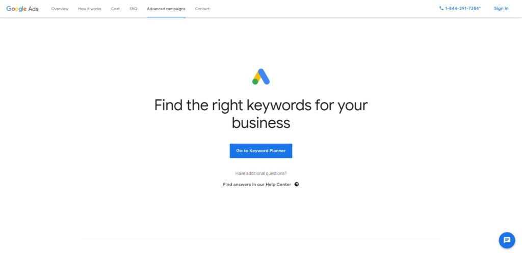 google keywords research