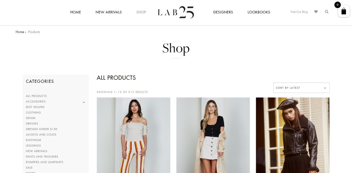 Lab 25 best dressed websites