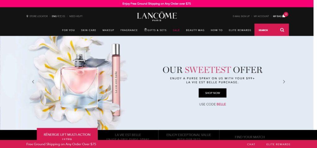 Lancome cosmetics USA
