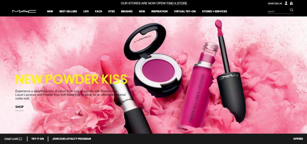 MAC Cosmetics best beauty product website
