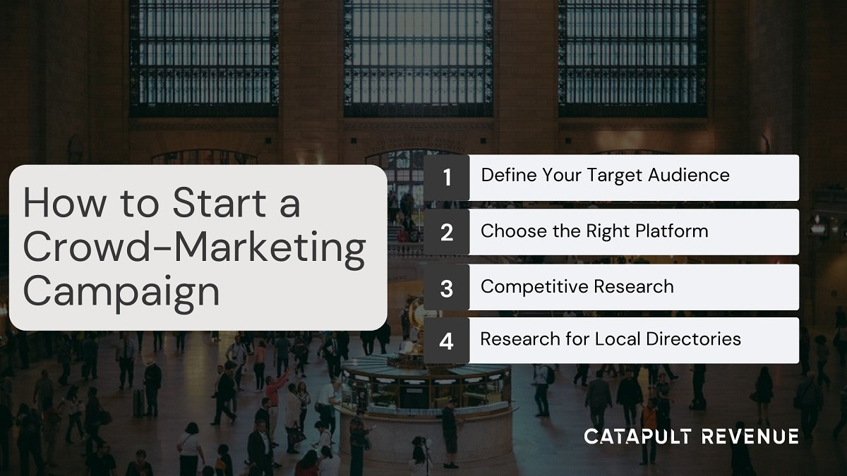 How to Start a Crowd Marketing Campaign