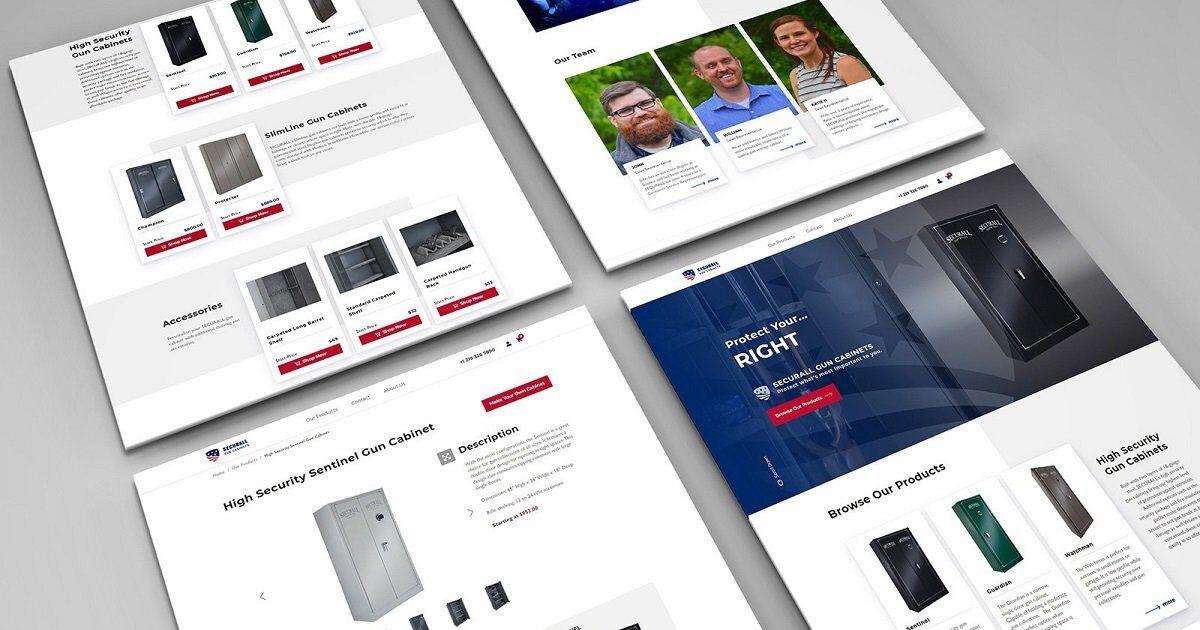 Securall website development