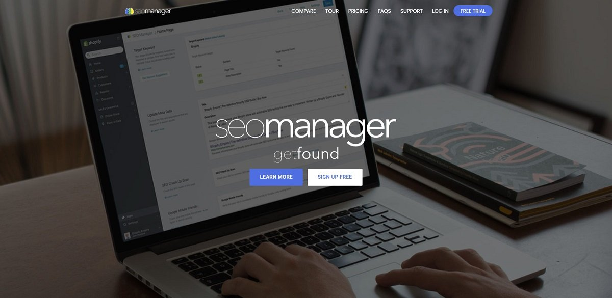 Seo Manager Shopify tool