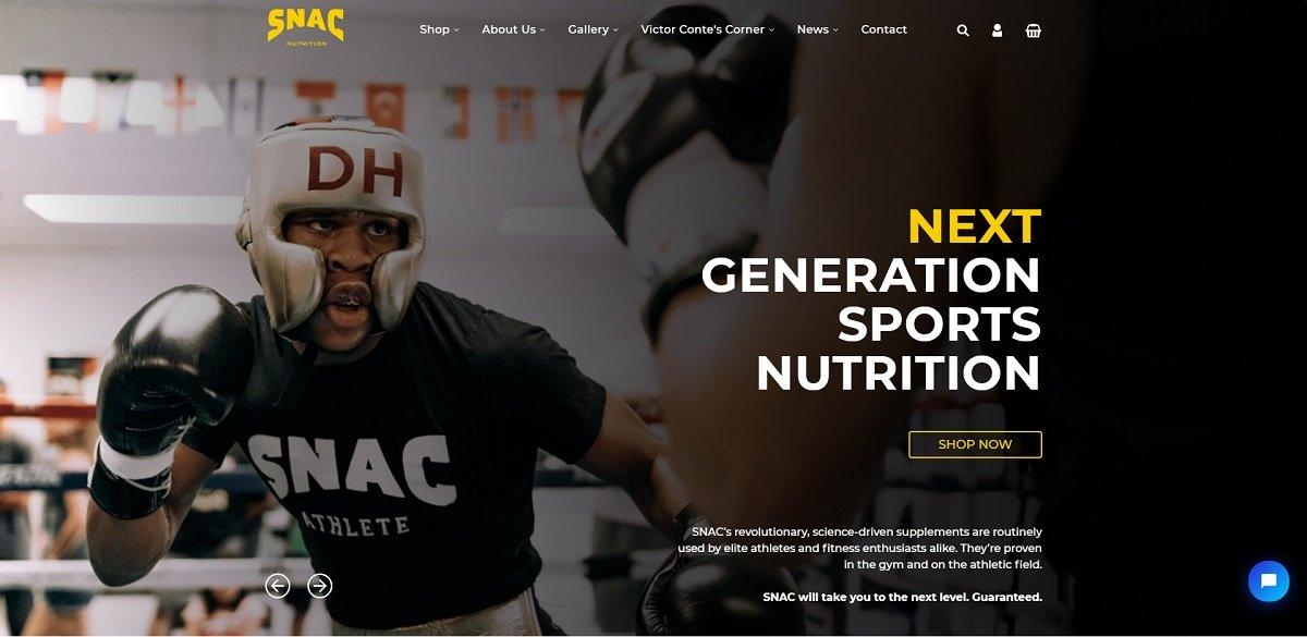 Snac website design