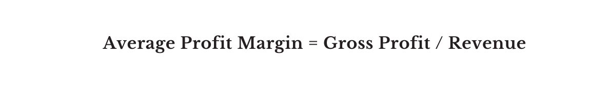 Average Profit Margin