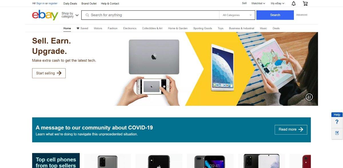 ebay digital marketplace