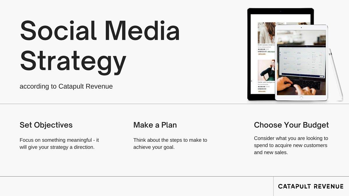 Catapult Revenue's social media strategy