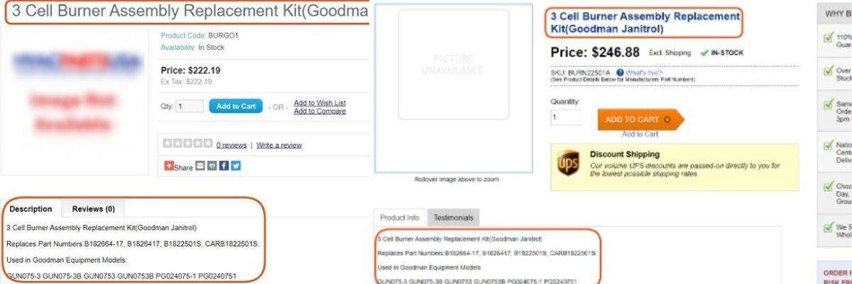 bad hvac product description