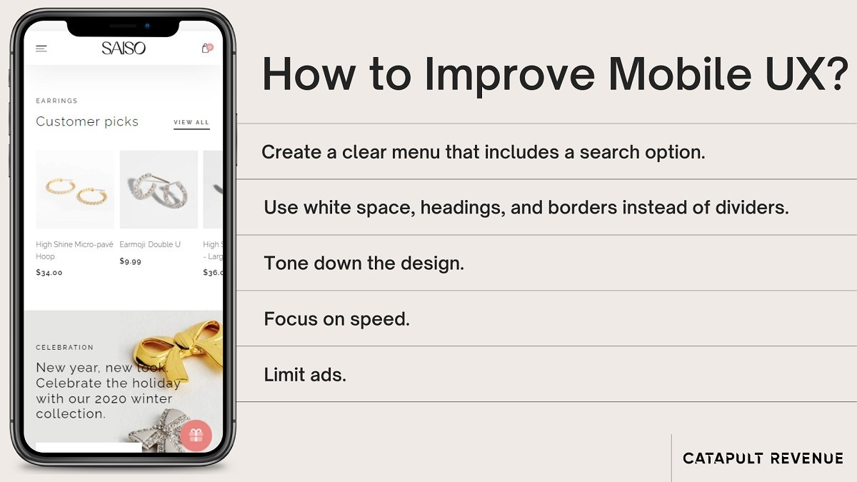 how to improve mobile ux