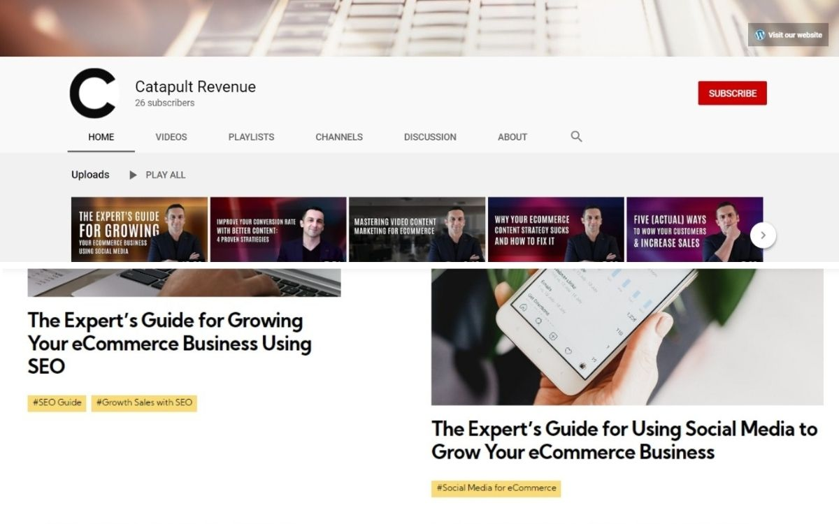 youtube videos vs blog articles
