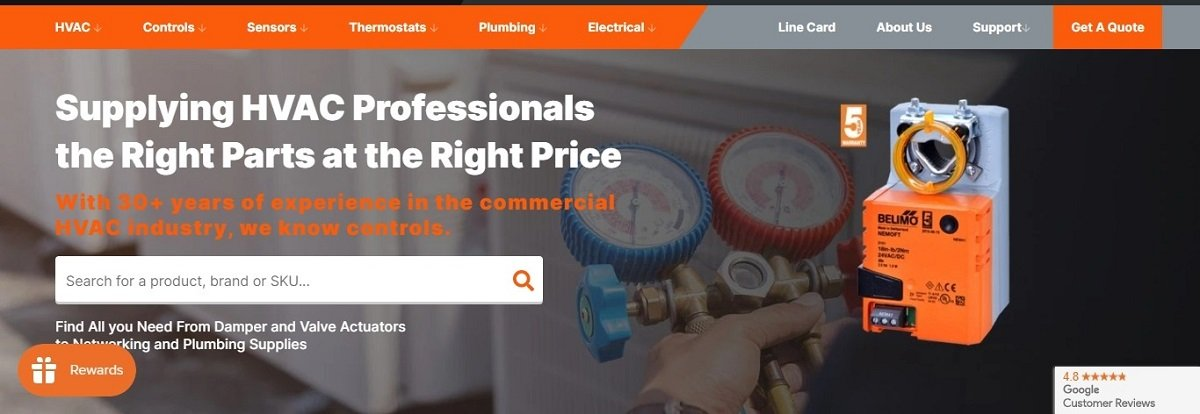 user friendly navigation on an ecommerce website