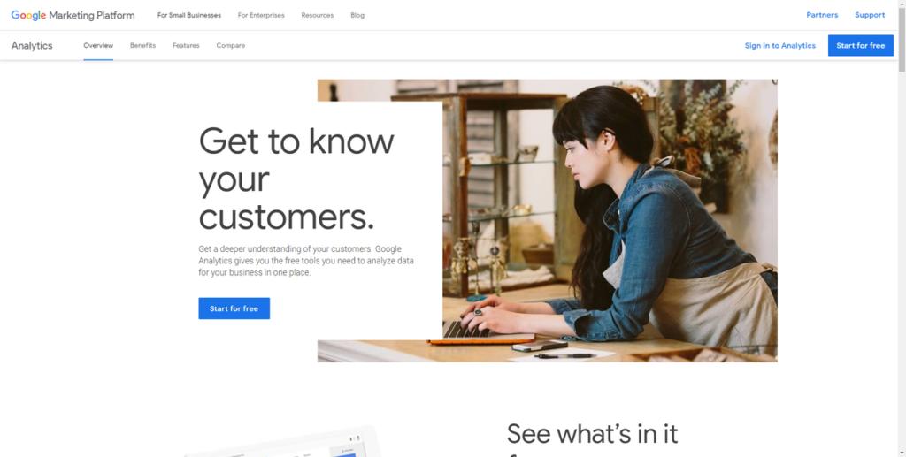google ecommerce tools